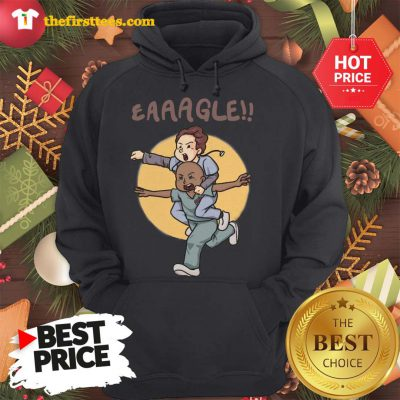 Official Eaaagle!! Hoodie - Design by Thefristtees.com
