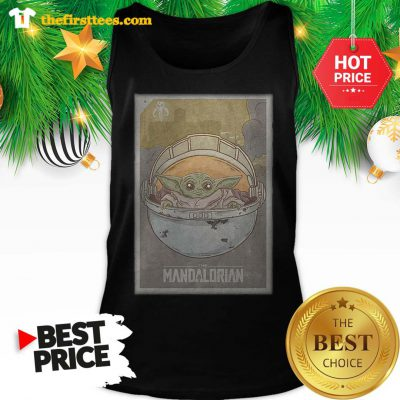 Official The Mandalorian Baby Yoda Star Wars Tank Top - Design by Thefristtees.com