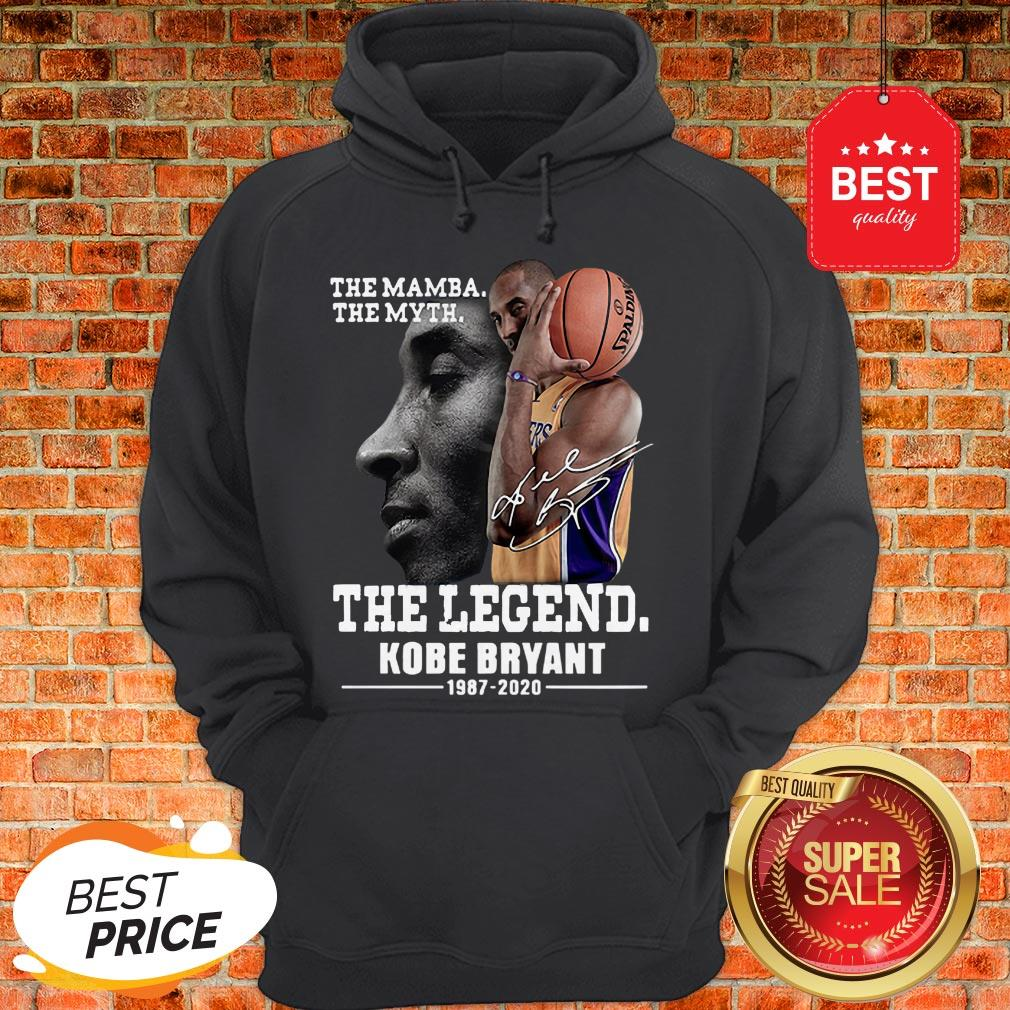 Official The Mamba The Myth The Legend Kobe Bryant 1987-2020 Hoodie