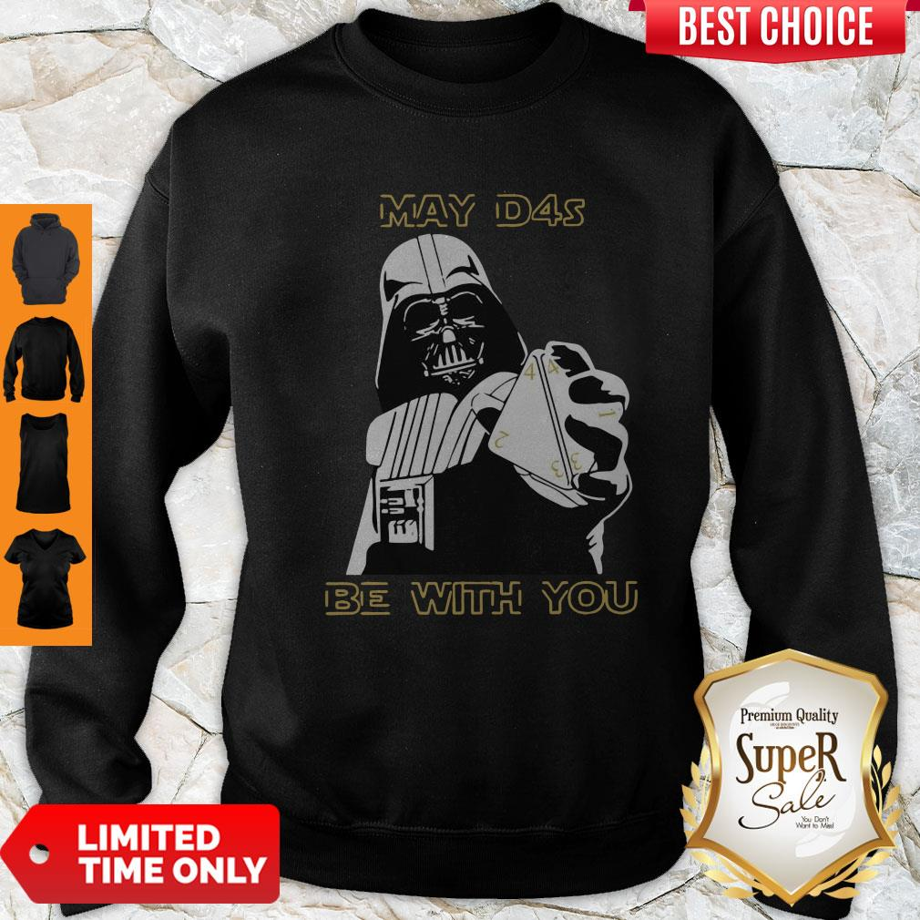 Top Darth Vader May D4s Be With You Star Wars Sweatshirt