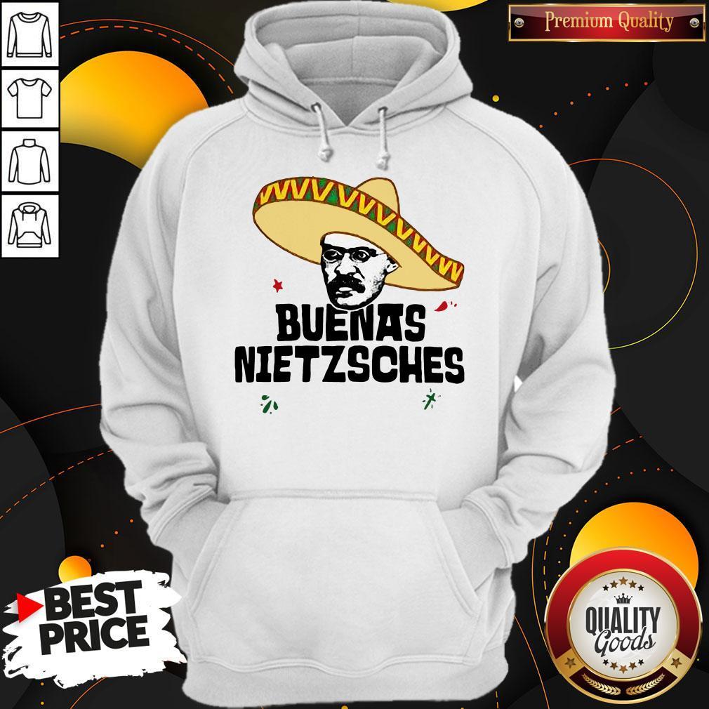 Official Mexican Friedrich Buenas Nietzsche Hoodie