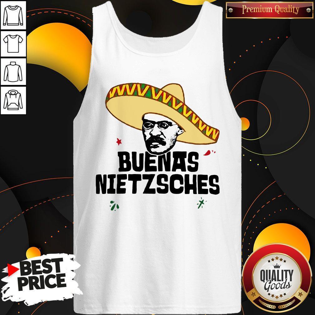 Official Mexican Friedrich Buenas Nietzsche Tank Top
