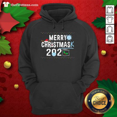 Merry Christmas 2929 Toilet Paper Mask Coronavirus Hoodie - Design by Thefristtees.com
