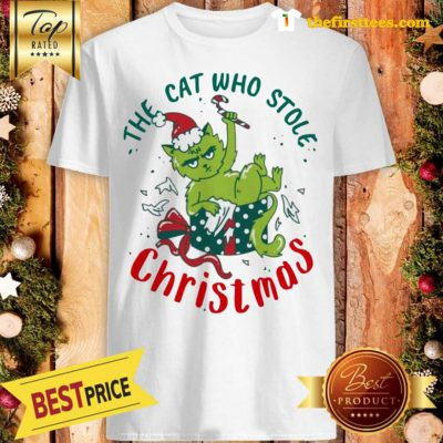 ELF The Cat Who Stole Christmas Shirt - Design by Thefristtees.com