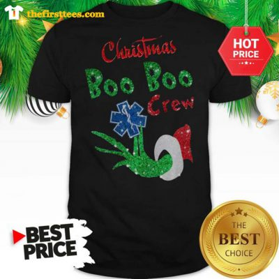 Official Christmas Boo Boo Crew Grinch Woderfull Shirt - Design by Thefristtees.com