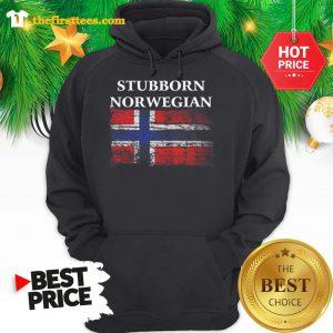 Iceland Flag Stubborn Nor Wegian Hoodie - Design by Thefristtee.com