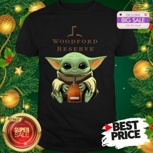 Baby Yoda Hug Woodford Reserve Star Wars Shirt