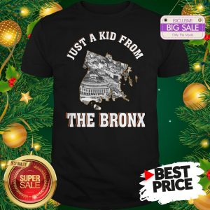 Beautiful Just A Kid From The Bronx New York Shirt