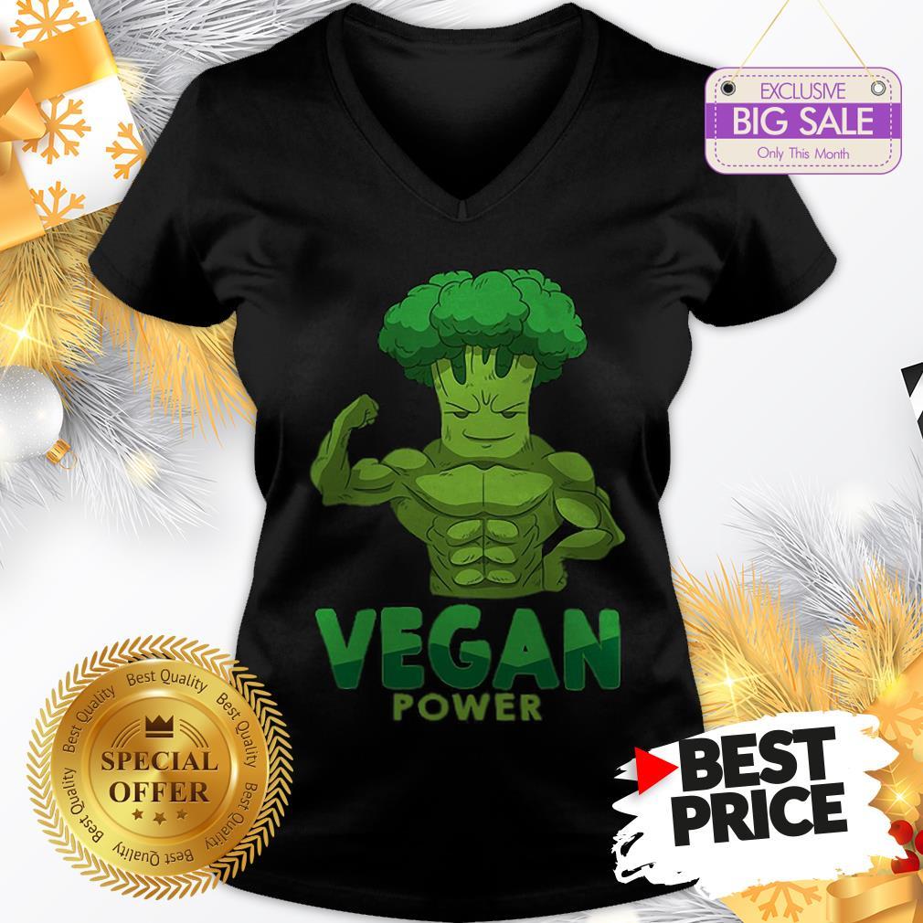 Beautiful Vegan Plant Power V-Neck