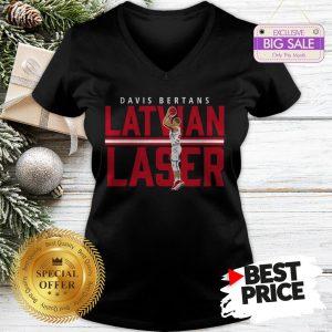 Hot Davis Bertans Latvian Laser V-Neck