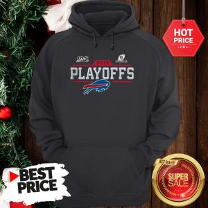 Like Buffalo Bills Logo 2019 100 NFL Playoffs Hoodie