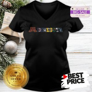 Minnesota Sports Minnesota Vikings Timberwolves Golden Gophers V-Neck