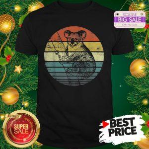 Nice Koala Bear Animal Vintage Sunset Shirt