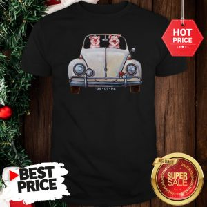 Nice Pigs Driving Volkswagen Car Shirt