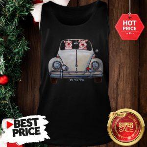Nice Pigs Driving Volkswagen Car Tank Top
