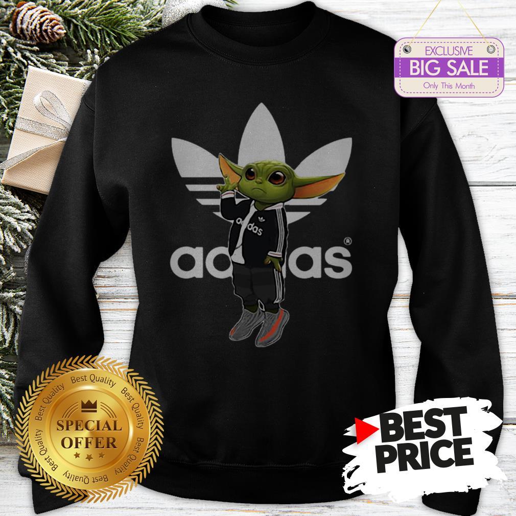 Official Baby Yoda Mashup Adidas Sweatshirt