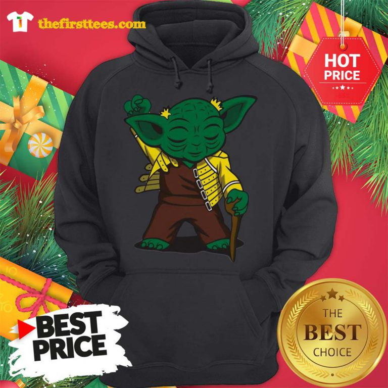 Official Baby Yoda We are The Champions Hoodie - Design by Thefristtees.com