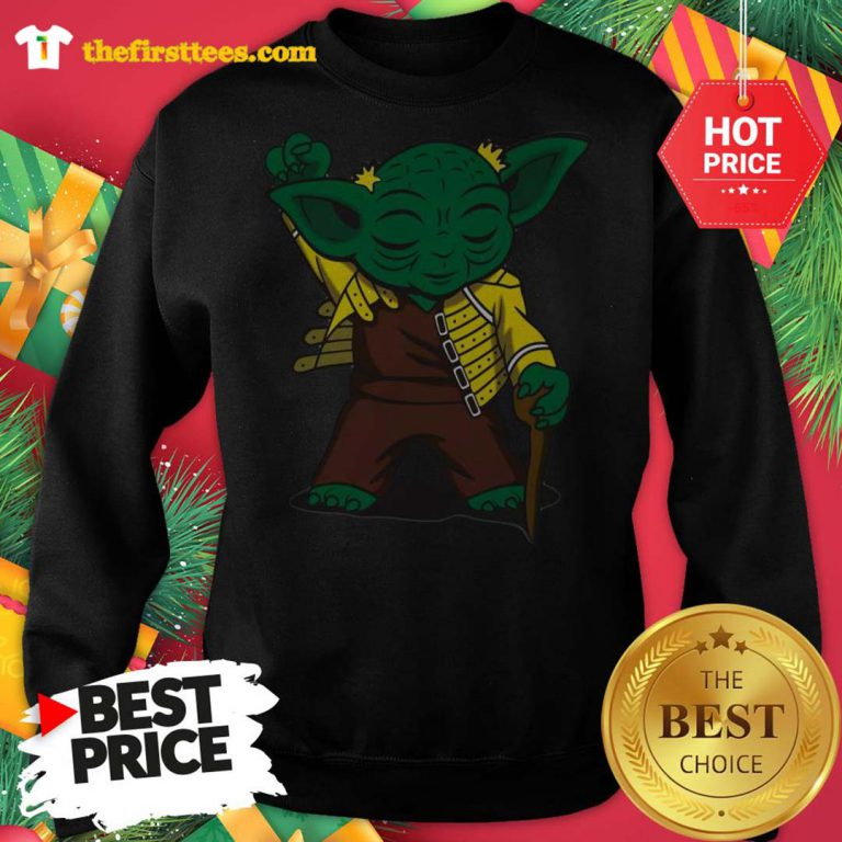 Official Baby Yoda We are The Champions Sweatshirt - Design by Thefristtees.com