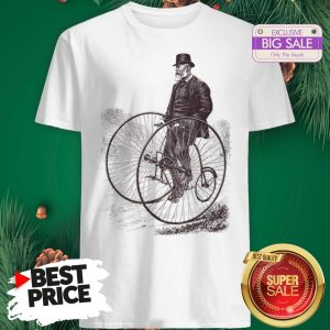 Official Bicycle Cycling History Bike Cyclists Shirt