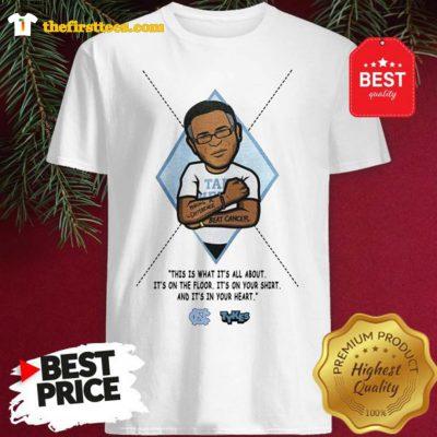 Official Funny North Carolina Stuart Scott Pregame Shirt - Design by Thefristtees.com