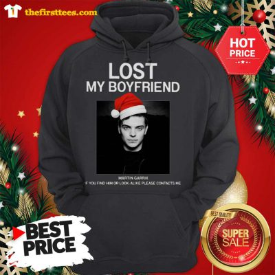 Official Hot Men Lost My Boyfriend Martin Garrix If You Find Him Or Look Alike Hoodie - Design by Thefristtees.com