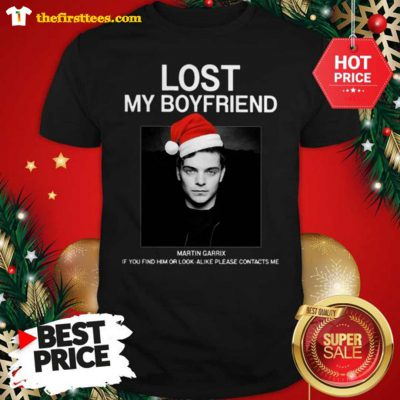 Official Hot Men Lost My Boyfriend Martin Garrix If You Find Him Or Look Alike Shirt - Design by Thefristtees.com