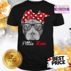 Official Hot Pitbull Dog Pittie Mom Shirt