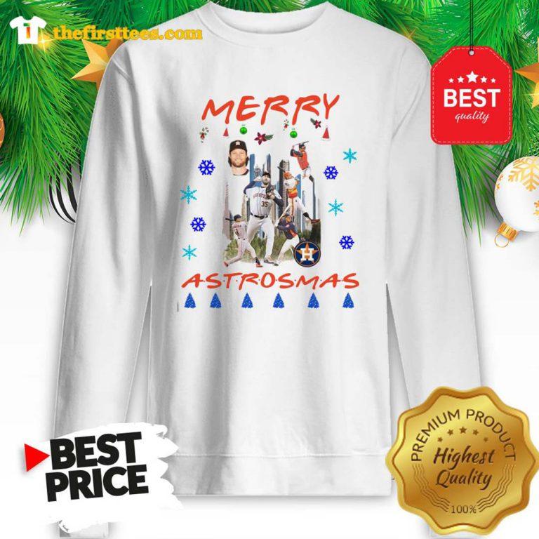 Official Houston Astros Merry Astrosmas Christmas A Funny Sweatshirt- Design by Thefristtees.com