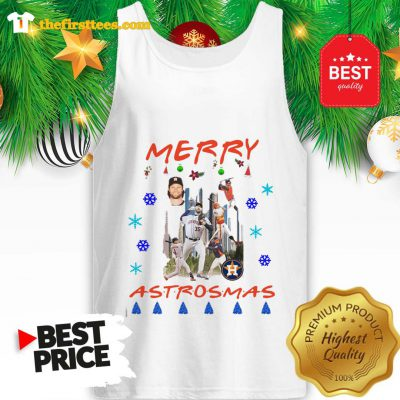 Official Houston Astros Merry Astrosmas Christmas A Funny Tank Top- Design by Thefristtees.com