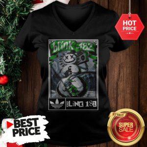 Official Nice Adidas Blink 182 V-Neck
