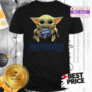 Official Star Wars NFL Baby Yoda Hug New England Patriots Shirt