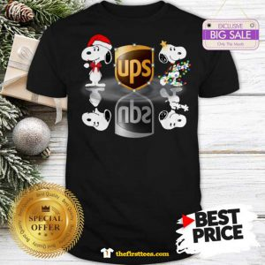 Official Wonderful Snoopy Ups Water Mirror Reflection Christmas Shirt - Design by Thefristtees.com