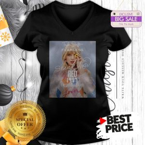 Official Wonderful Taylor Swift Fearless Speak Now Red 1989 Reputation Lover V-Neck