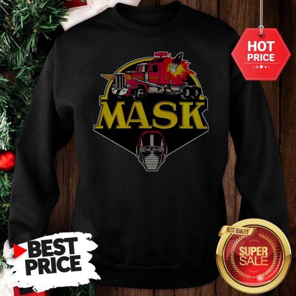 Very Logo M.A.S.K. Mobile Armored Strike Kommand Truck Sweatshirt