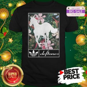 Wonderful Adidas Deftones Horse Floral Shirt