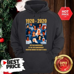 100 Year Anniversary Of The 19th Amendment Women's Right Hoodie