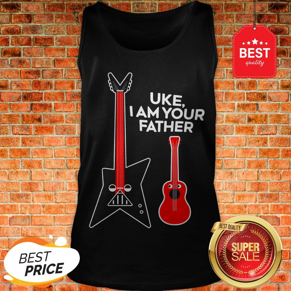 Hot Uke I Am Your Father Tank Top