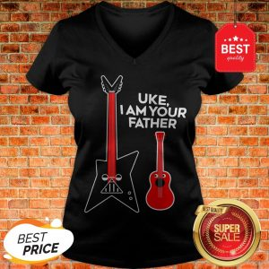 Hot Uke I Am Your Father V-Neck