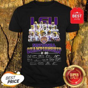LSD National Championship 2020 Clemson Shirt