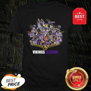 Official Football And Loves Minnesota Vikings Shirt