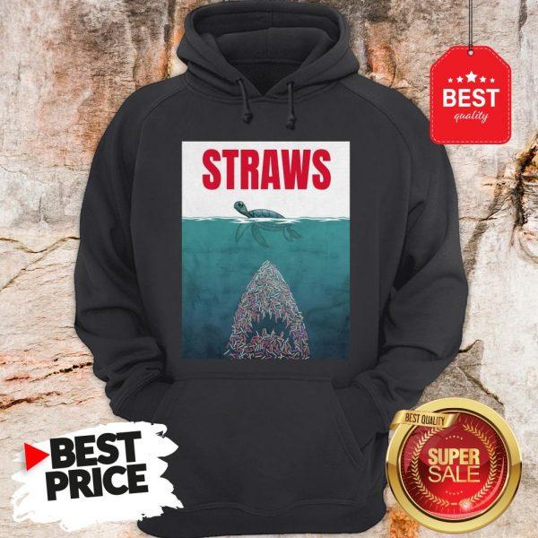 Official Straws ParOfficial Straws Parody Jaws Shirtody Jaws Hoodie