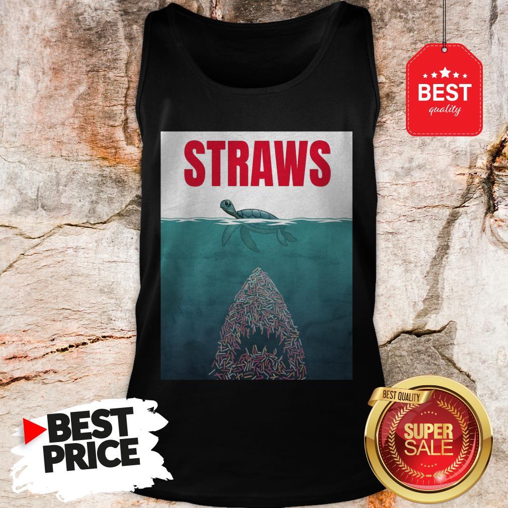 Official Straws ParOfficial Straws Parody Jaws Shirtody Jaws Tank Top