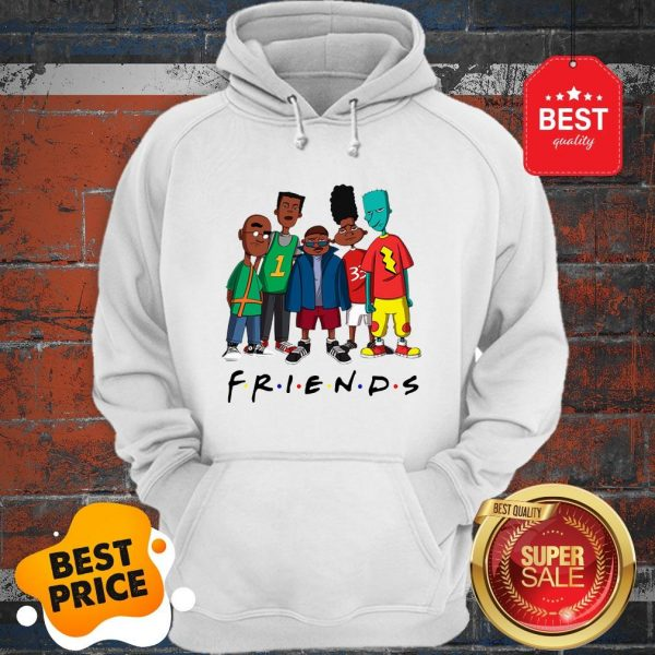 Official Friends We Are Black History Month Hoodie