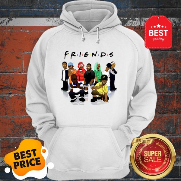 Official Friends We Are Black Legends Rapper's Hoodie