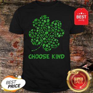 Irish Shamrock Autism Puzzle Pieces St Patrick's Day Gifts Shirt