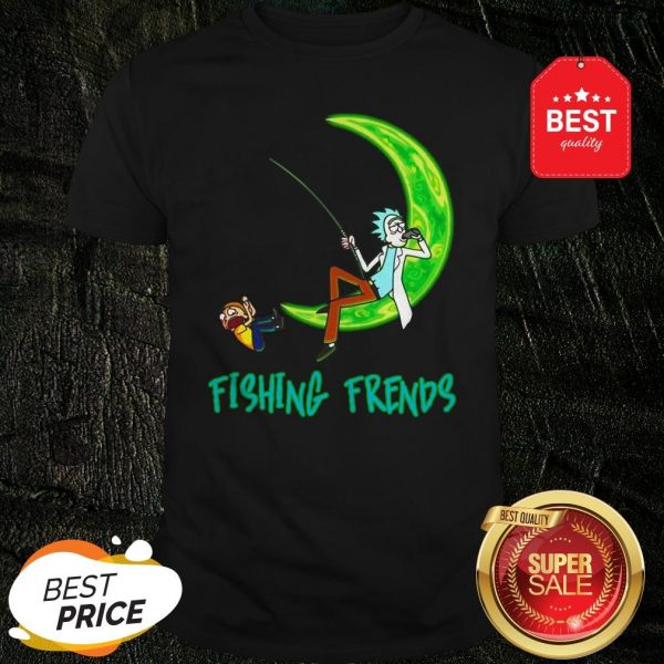 Official Rick And Morty Fishing Friends Shirt