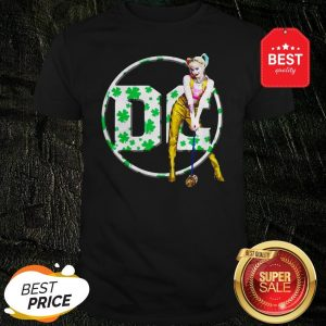 Official St Patrick's Day Harley Quinn DC Shirt