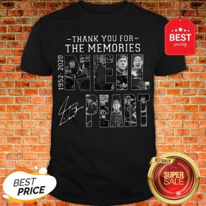 Official Thank You For The Memories Neil Peart 1952 2020 Signature RUSH Shirt