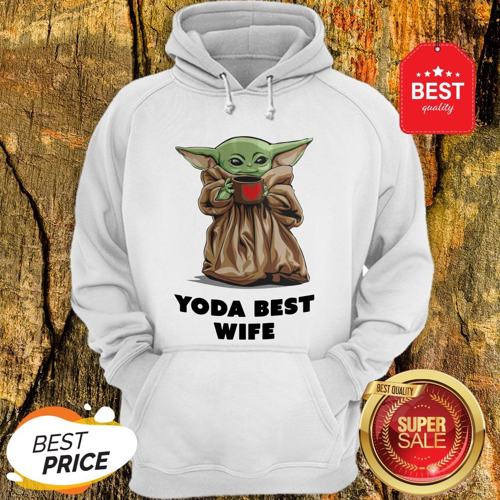Official Baby Yoda Best Wife Hoodie