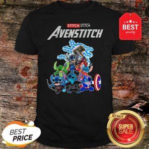 Official Marvel Avengers Stitch Avenstitch Shirt